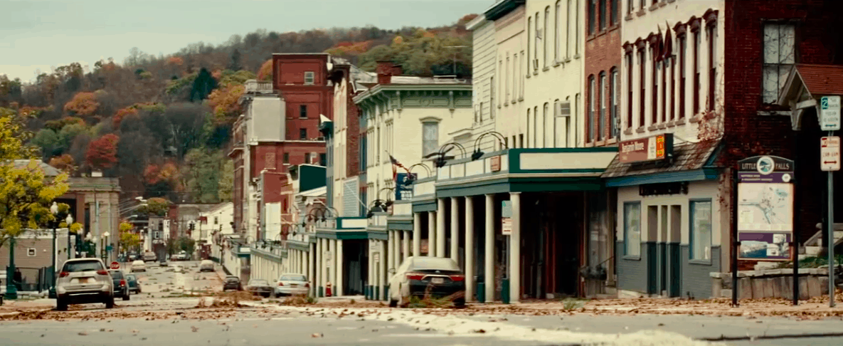 A scene from A Quiet Place, one of the best apocalyptic movies.
