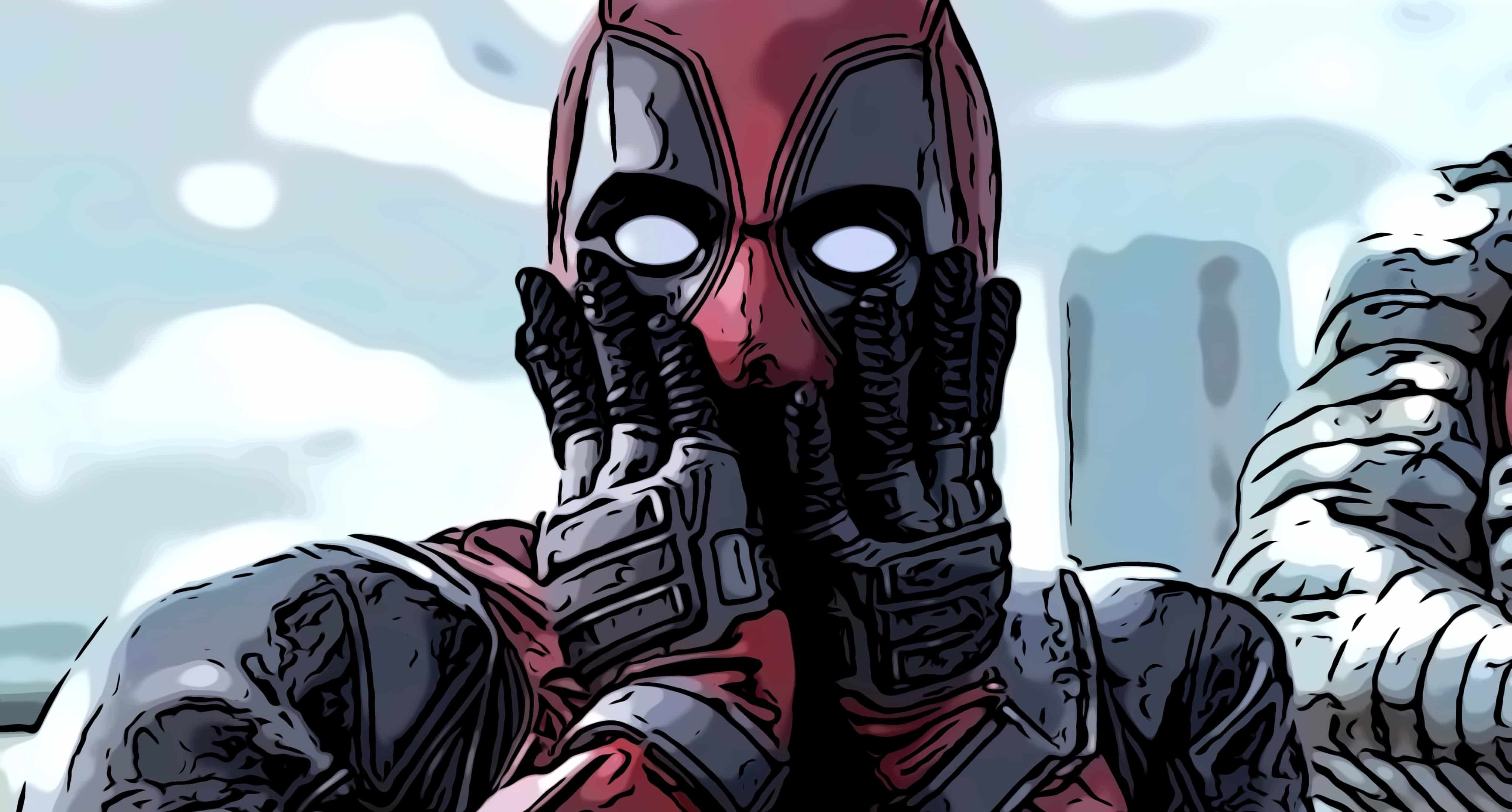 Scene from Deadpool, which has some of the funniest movie quotes ever.