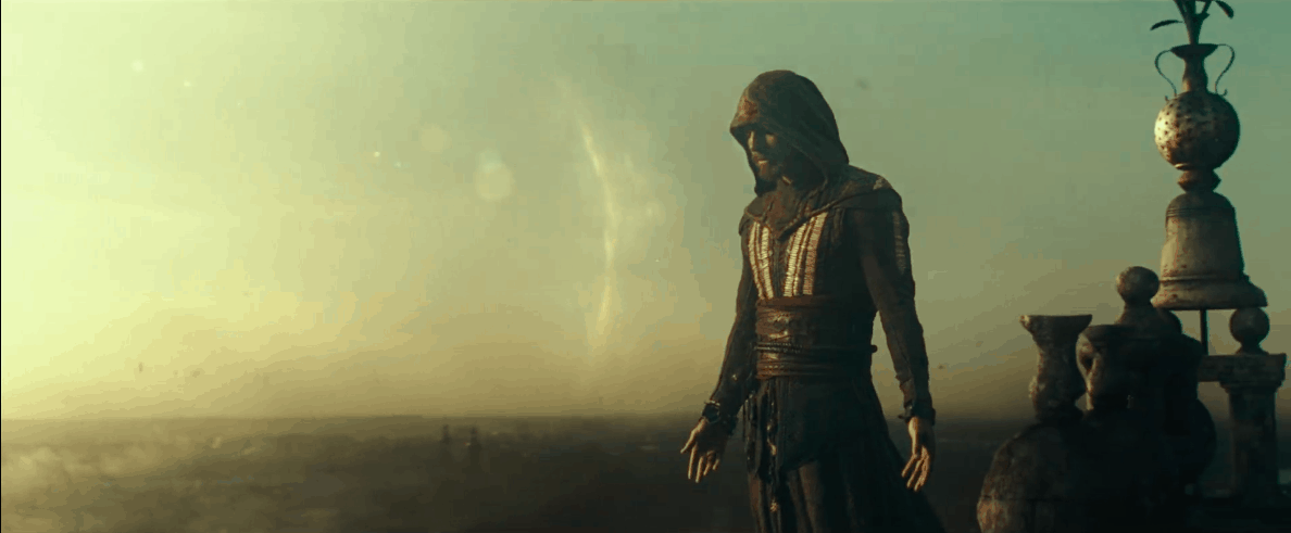 Scene from Assassin's Creed, one of the parkour movies.