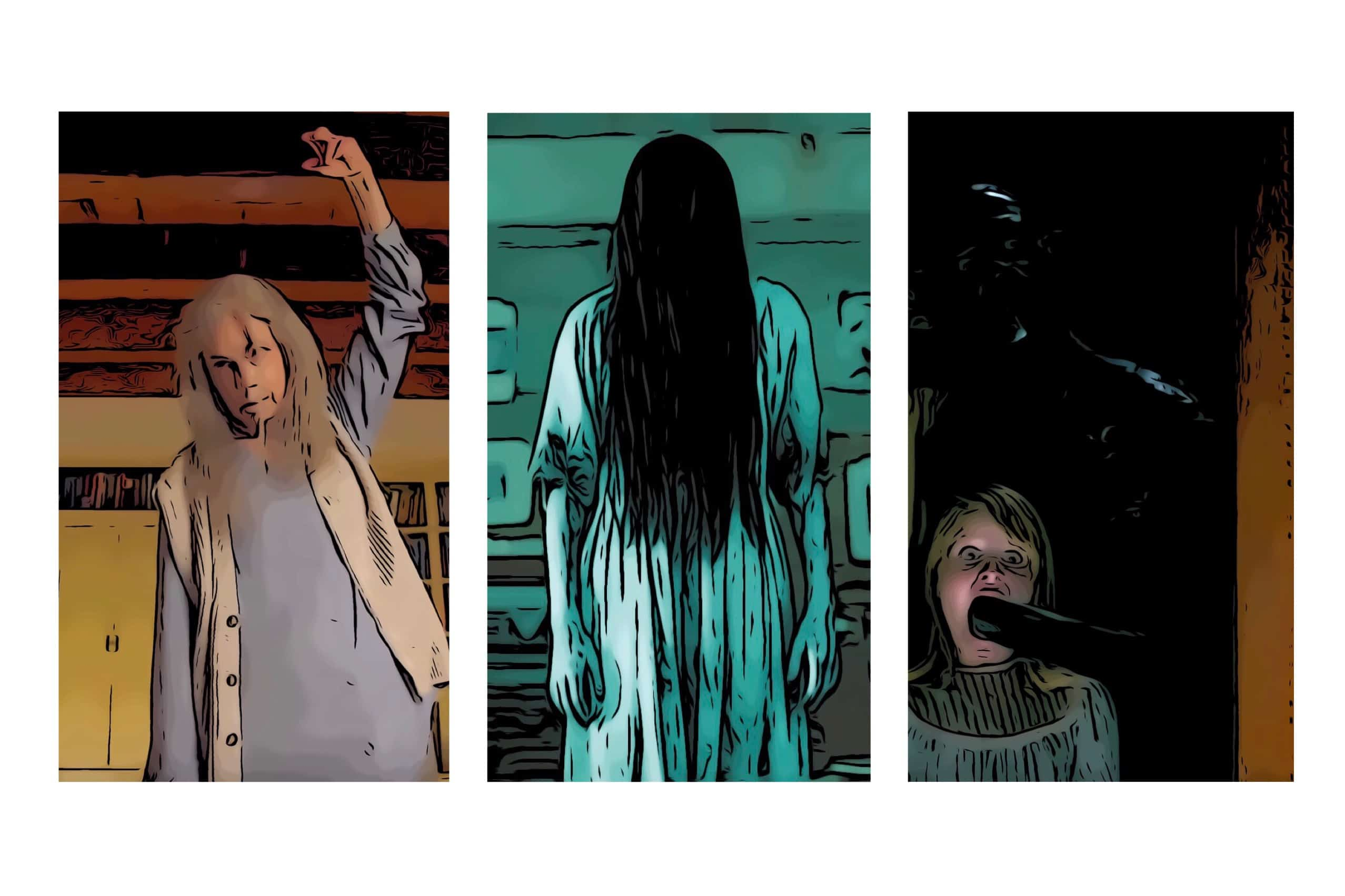3 of the pg 13 scary movies in the post.