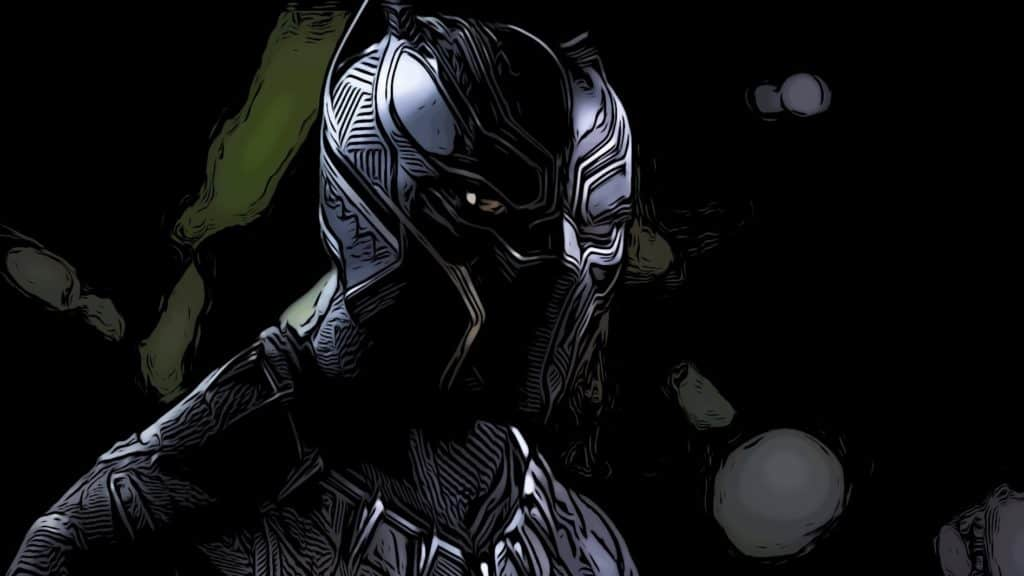 T'Challa in his suit for Black Panther Easter eggs post.