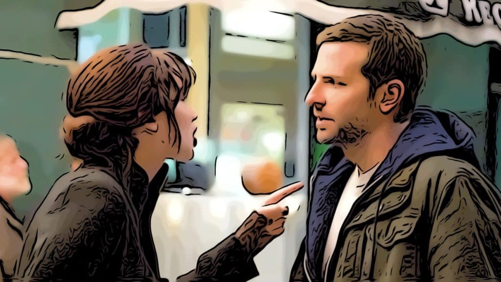 Scene from Silver Linings Playbook for movies about bipolar post.