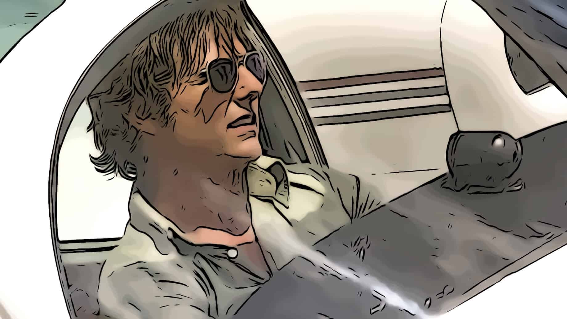 Scene from American Made for best cartel movies post.