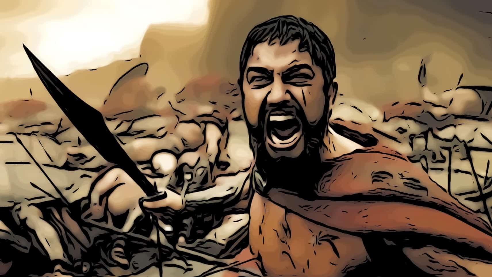 Scene in 300 for best greek mythology movies post.