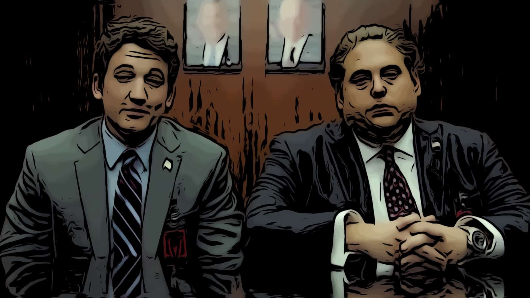 Scene from War Dogs for movies like Wolf Of Wall Street post.