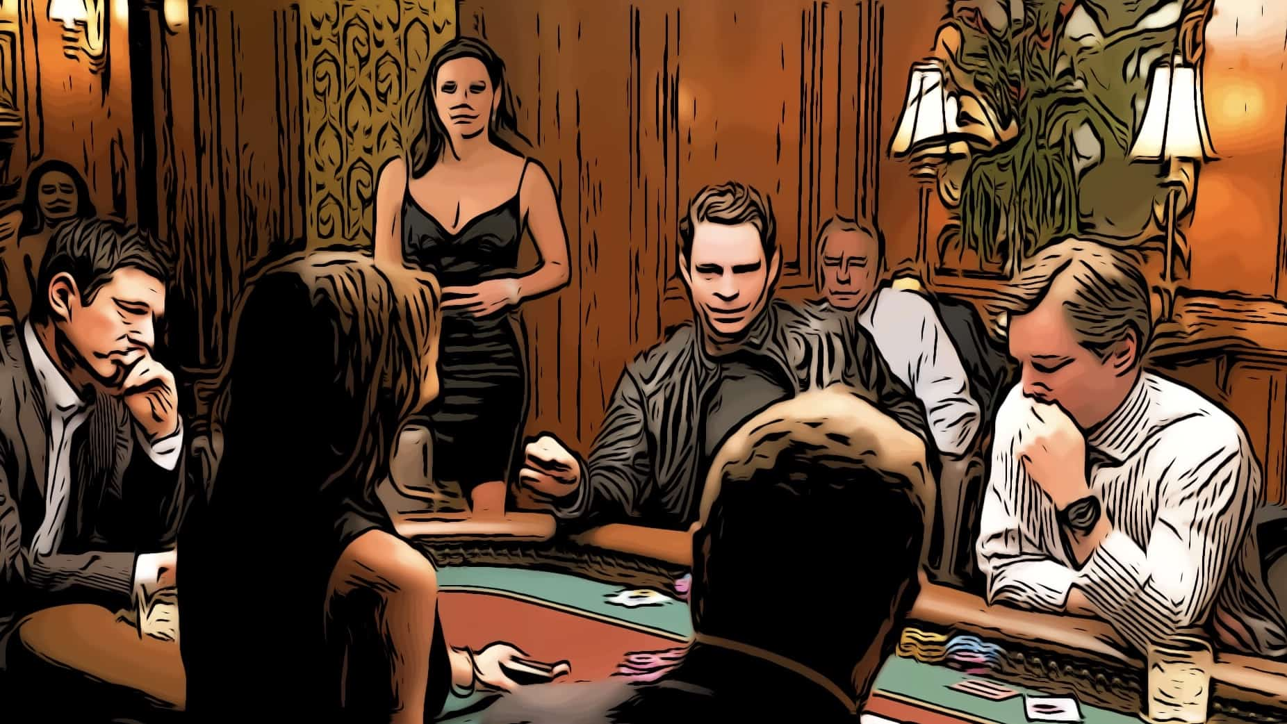 Scene in Molly's Game for best gambling movies post.
