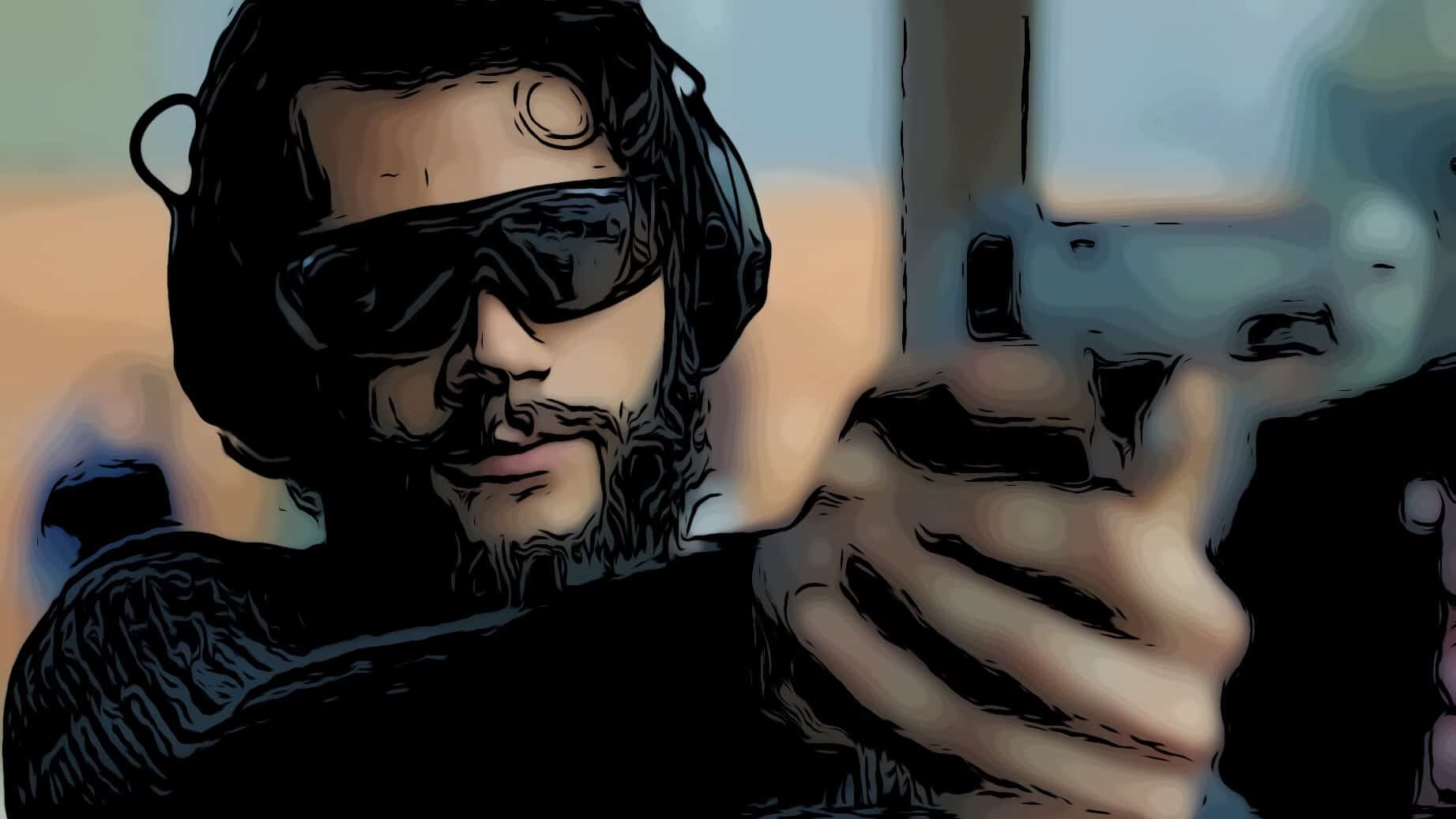Scene from American Assassin for best assassin movies post.