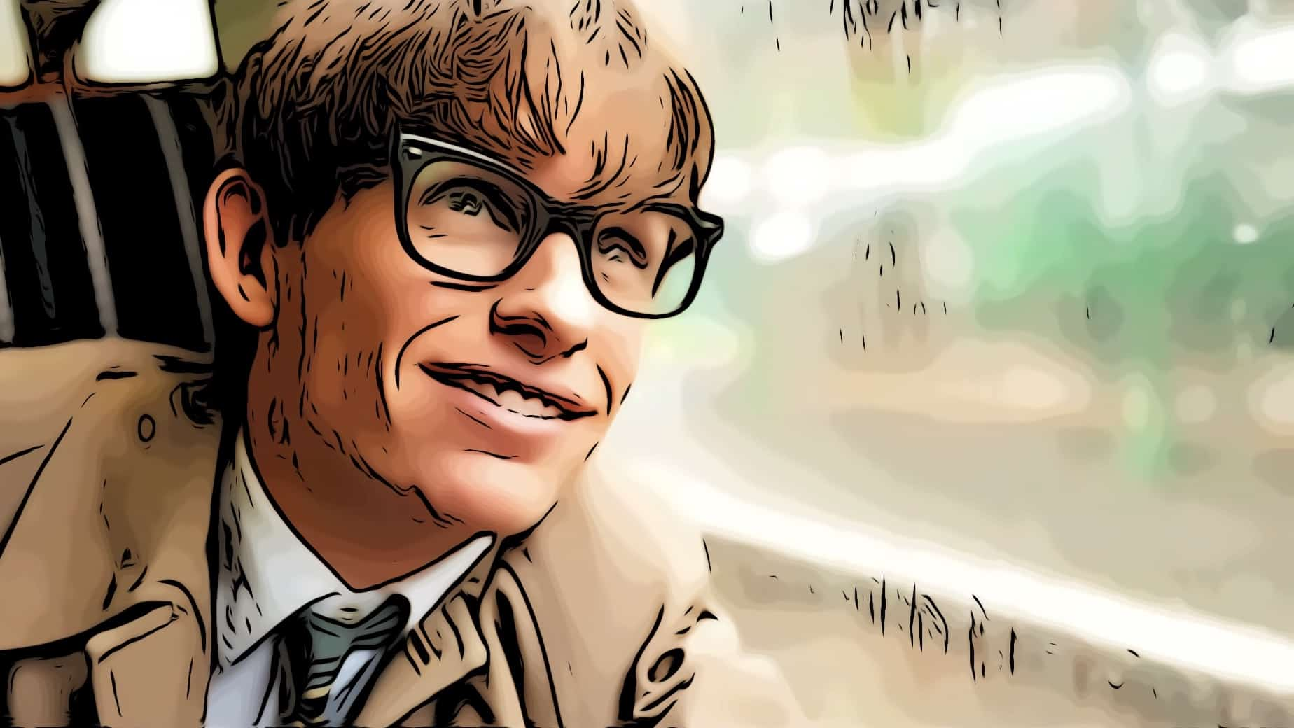 Stephan Hawking in The Theory Of Everything for best inspirational movies post.