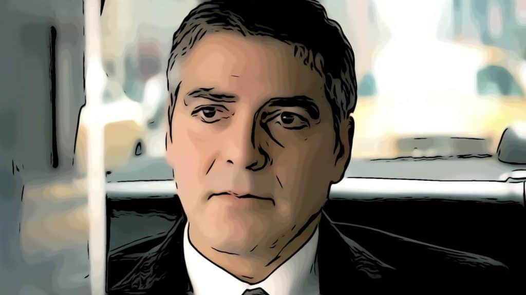 Scene from Michael Clayton for George Clooney movies post.