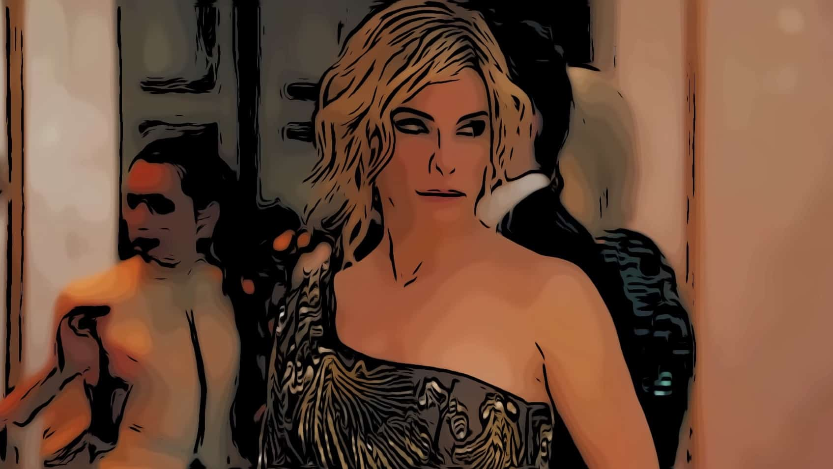 Scene from Ocean's 8 for Sandra Bullock movies post.
