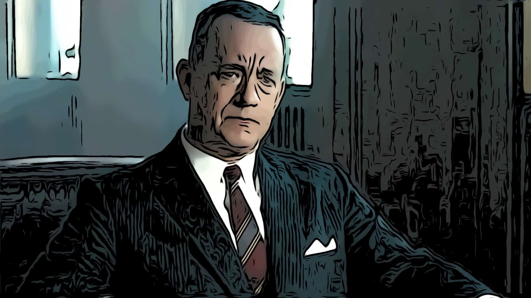 Scene from Bridge Of Spies for Tom Hanks movies post.