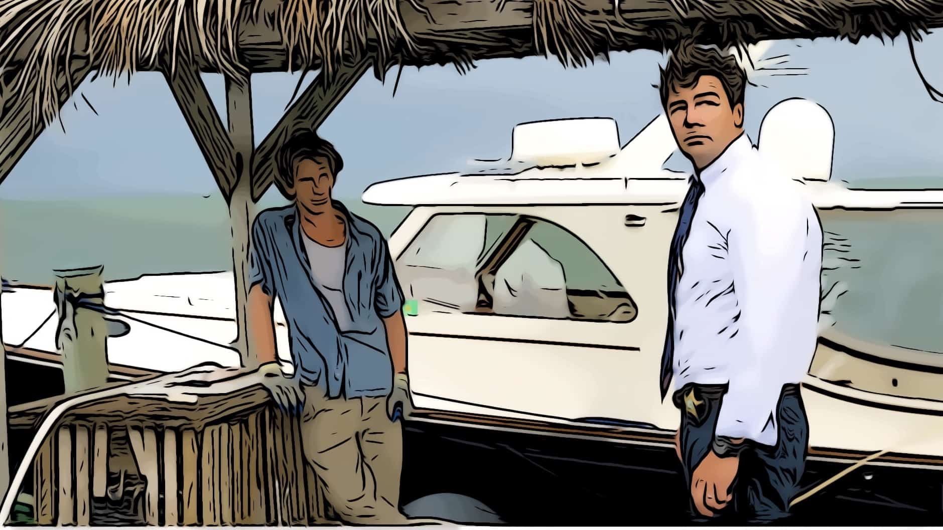 Scene from Bloodline for where is Bloodline filmed post.