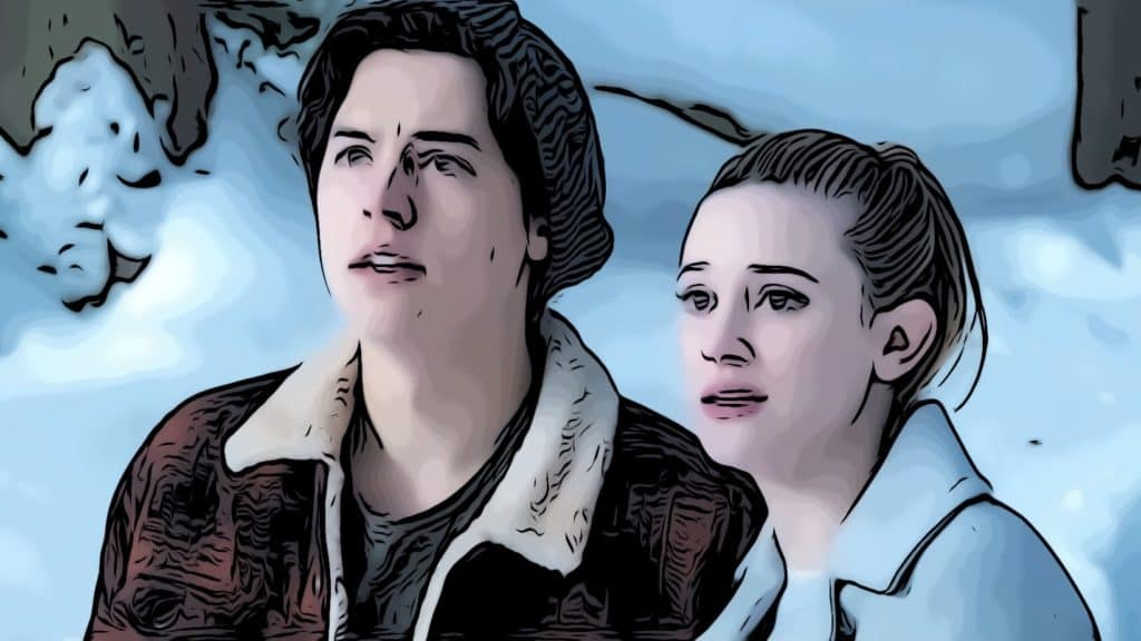 Scene with Betty and Jughead from Riverdale for where is Riverdale filmed post.