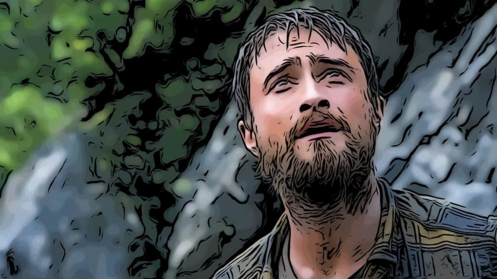 Scene from Jungle for Daniel Radcliffe movies post.