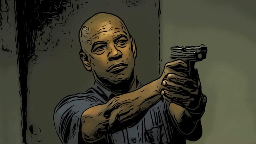 Scene from The Equalizer for Denzel Washington movies post.
