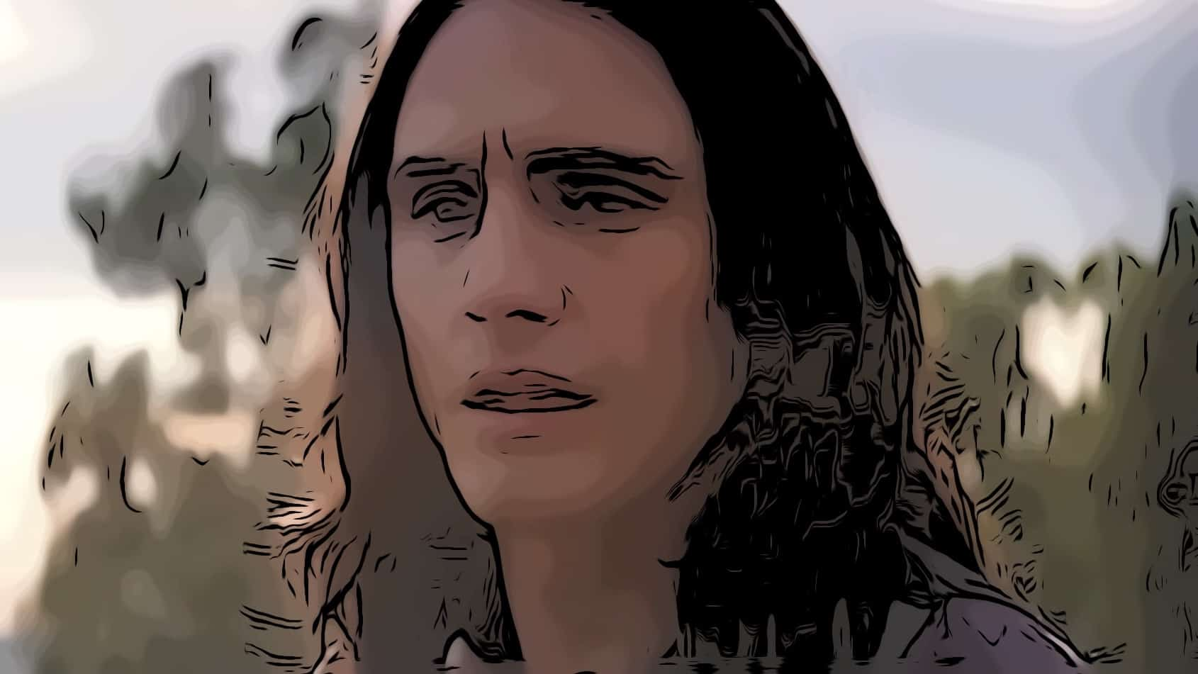 Scene from The Disaster Artist for James Franco movies post.