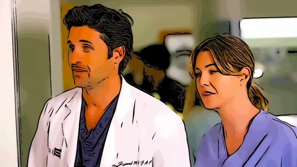 Scene from Grey's Anatomy for where is Grey's Anatomy filmed post.