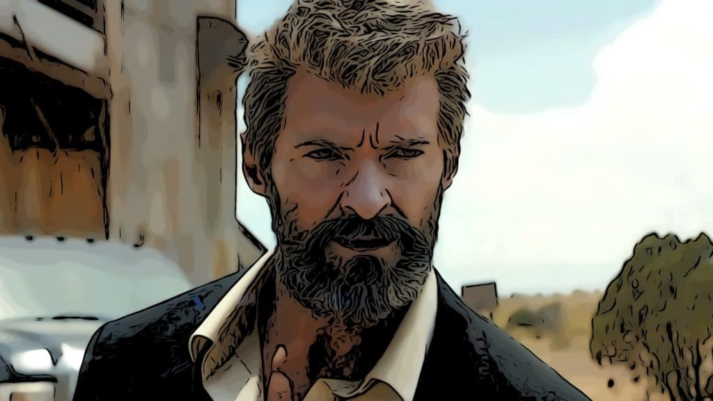 Scene from Logan for best dystopian movies post.