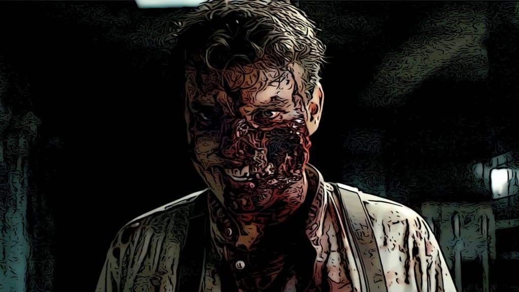 Scene from Overlord for best horror movies on Hulu post.