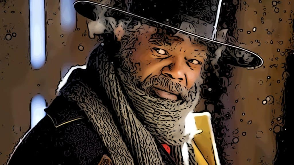 Scene from The Hateful Eight for best westerns on Netflix post.