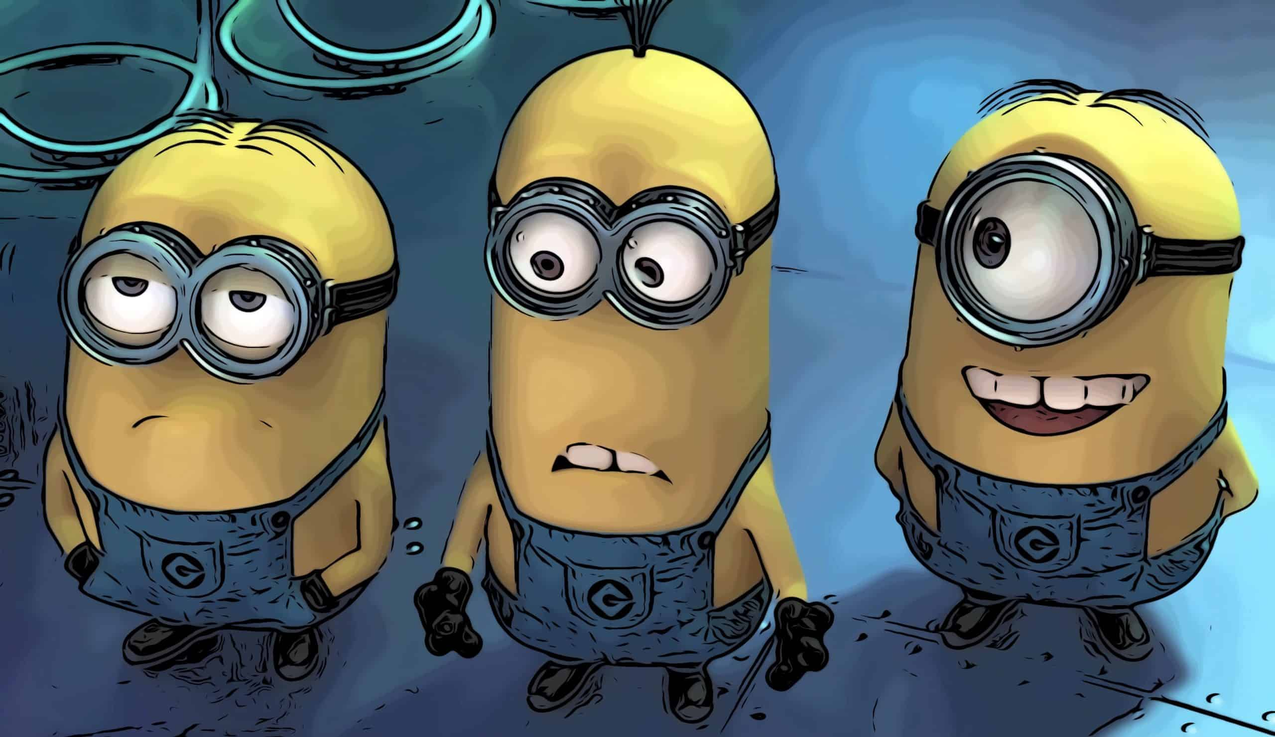 Scene from Despicable Me for funny pg 13 movies post.