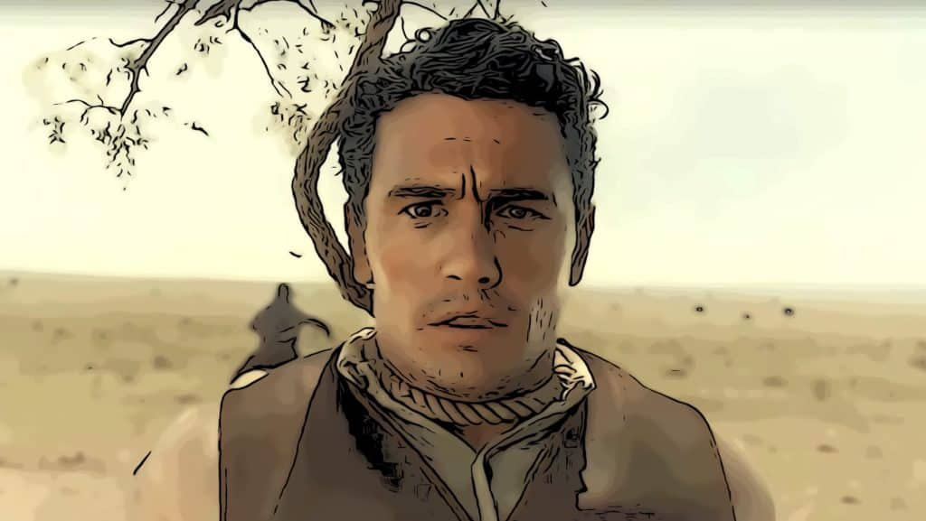 Scene from The Ballad Of Buster Scruggs for best Netflix Original movies post.