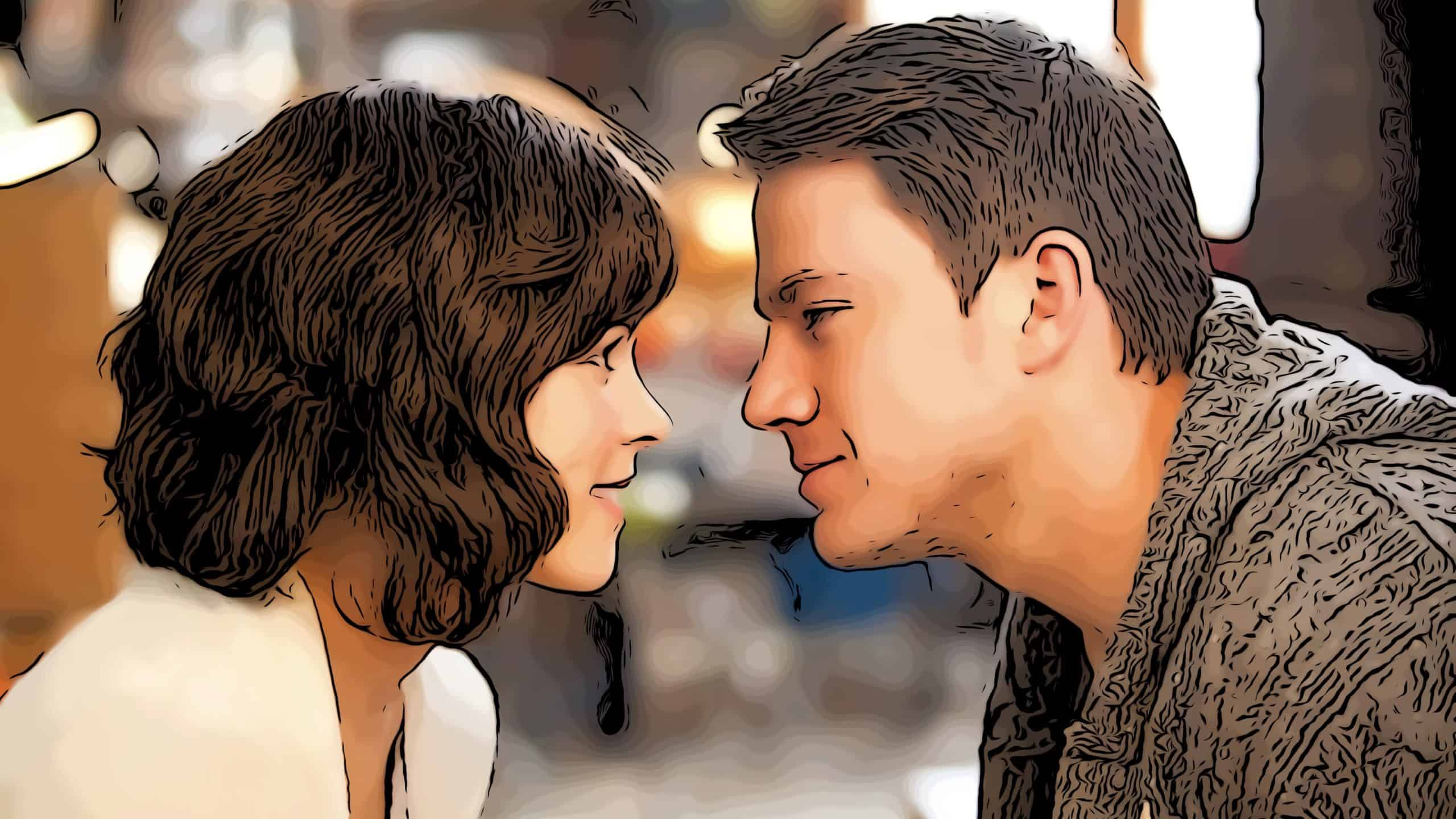 Scene from The Vow for movies like All The Bright Places post.