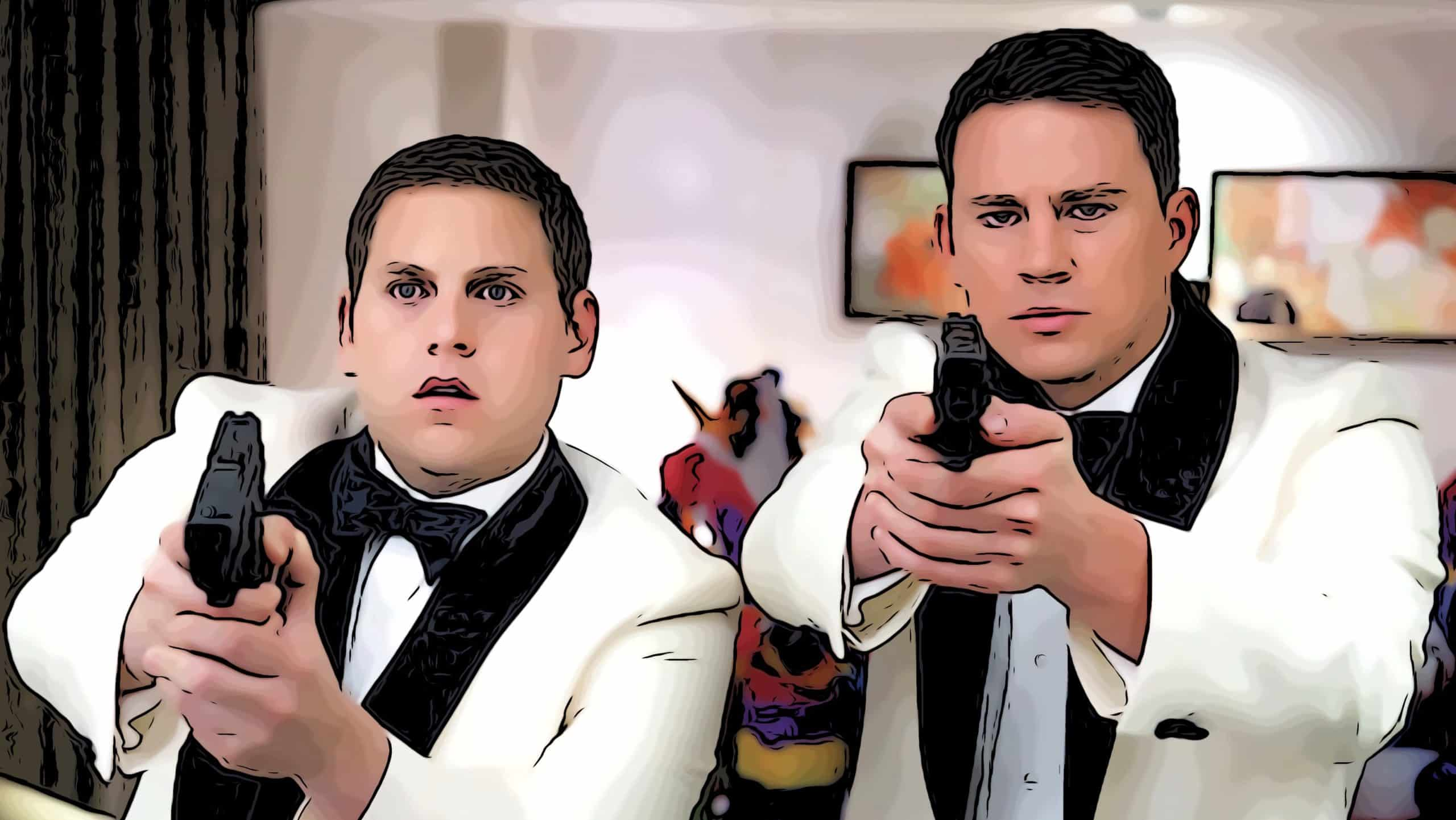 Scene from 21 Jump Street for movies like Bad Boys post.