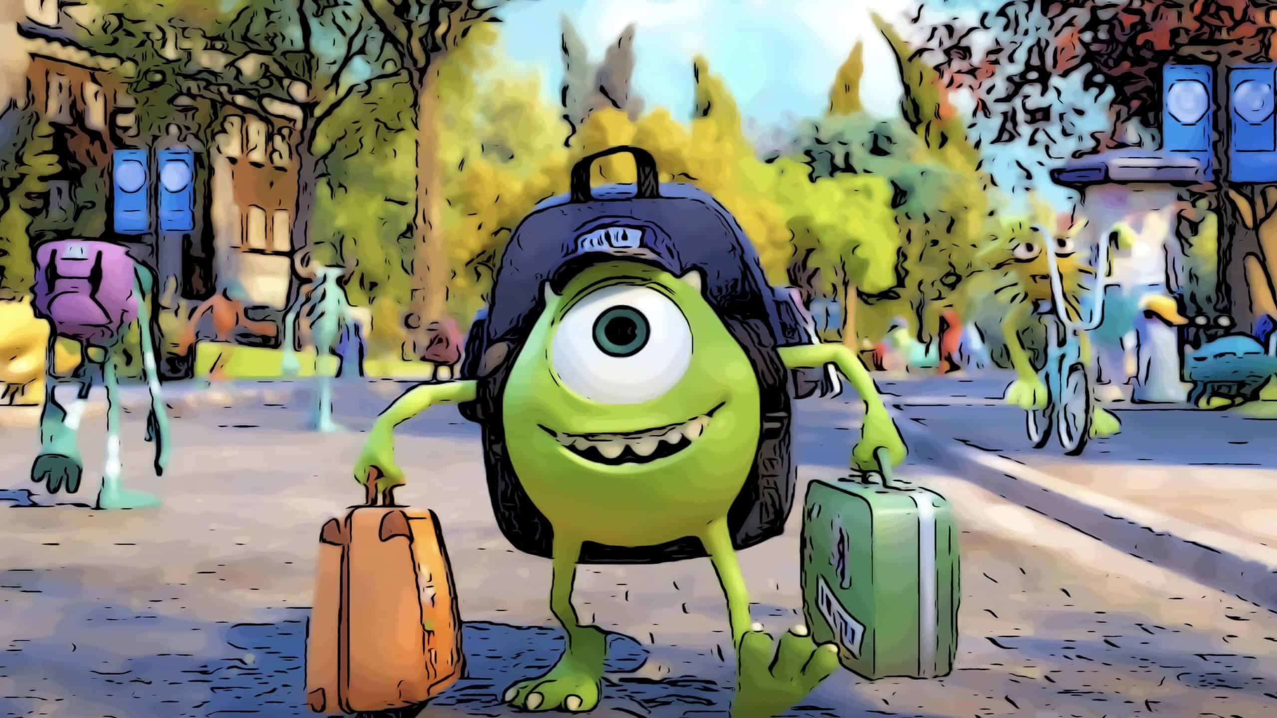 Scene from Monsters University for movies like Onward post.
