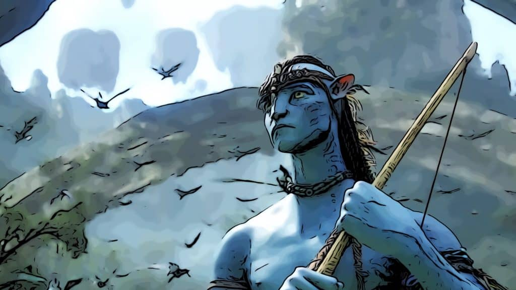 Scene from Avatar for where was Avatar filmed post.