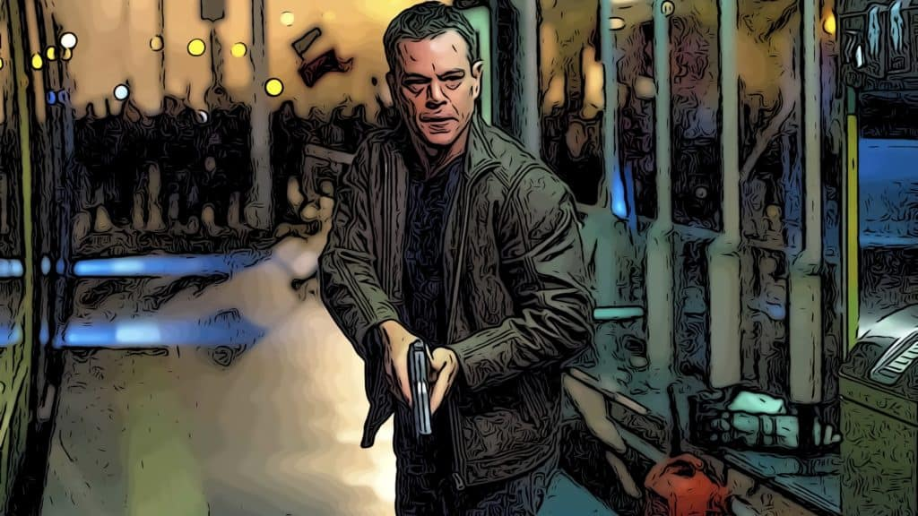 Scene from Jason Bourne for Bourne movies in order post.