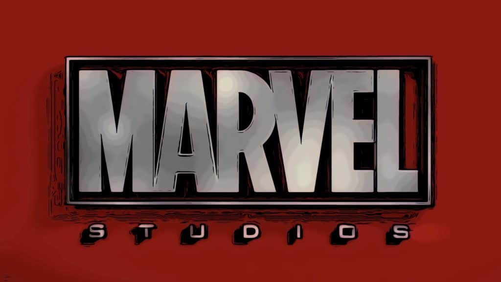 Marvel logo for how to watch all Marvel movies in order post.