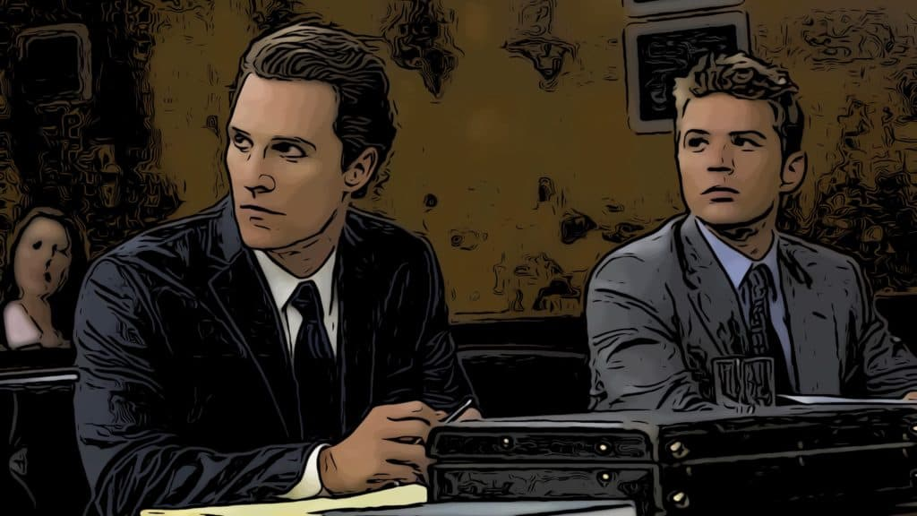 Scene from The Lincoln Lawyer for lawyer movies post.