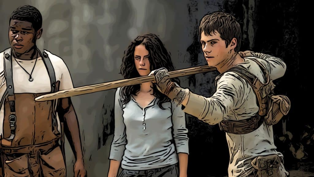Scene from Maze Runner for movies like I Am Number Four post.