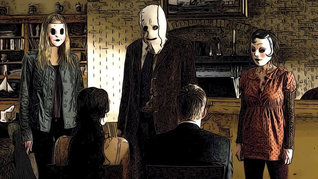 Scene from The Strangers for movies like You're Next post.